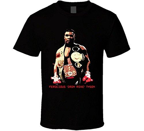 Ferocious Iron Mike Tyson Boxer Sports T (Mike Tyson Boxer)