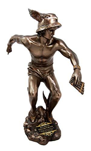 ShopForAllYou Figurines and Statues Greek Roman Olympian Deity Hermes Mercury God of Messengers & Thieves Figurine