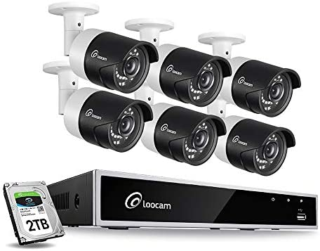 Loocam 1080p Home Security Camera System
