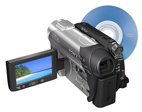 Sony DCR-DVD308 1MP DVD Handycam Camcorder with 25x Optical Zoom (Discontinued by Manufacturer) (Renewed)