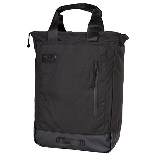 Timbuk2 Heist Tote Backpack, Jet Black, One Size (Tote Timbuk2 Convertible)