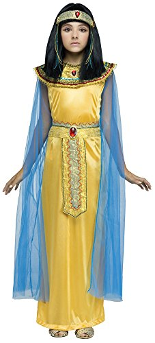 Girls Golden Cleopatra Costume - M