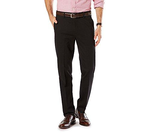 7cc2275f197b3 Dockers Men's Signature Khaki D1 Slim Fit Flat Front - Buy Online in ...
