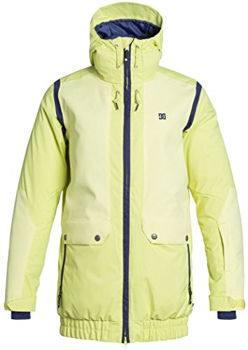 DC Shoes Womens Shoes Riji - Snowboard Jacket - Women - S - Green Sunny Lime S ()