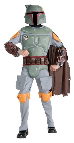 Boba Fett Child Costume deluxe - Large