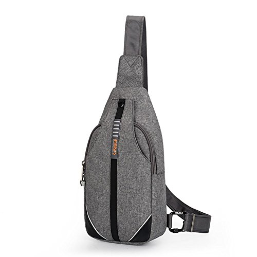 WATERFLY Anti-Theft Backpack Crossbody Sling Bag Small Multipurpose Daypack...
