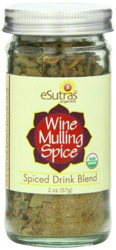 Esutras Organics Wine Mulling Spice, 2 Ounce by eSutras Organics