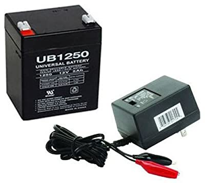 12V 5AH Battery for Phonic Safari 3000 PA System WITH CHARGER