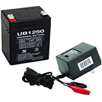 12V 5AH Battery for Honeywell Ademco 20P Security System WITH CHARGER