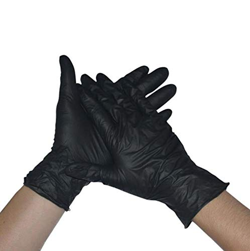 JOOIH 50/100PCS Black Color Disposable Latex Gloves Garden Gloves For Home Cleaning Rubber Or Cleaning Gloves Universal Food Gloves SMT291-100PCS SMT291-100PCS from JOOIH