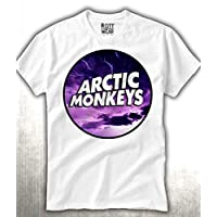 Arctic Monkeys Cielo Morado Playera Rott Wear