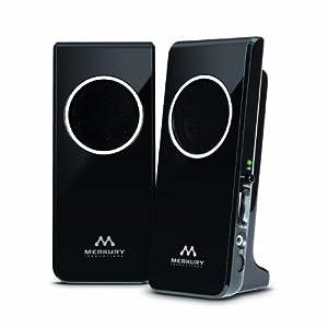 Merkury Innovations Amplified Stereo Speaker - Black (M-SPW510)