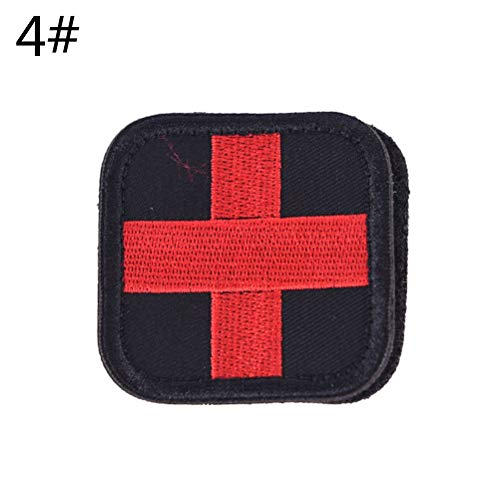 Cross Iron Patch - 2019 3d Embroidery Patch Armband Tactical Gear Props Cloth Patches Original Color Red Cross Medical - Tiger Potty Sleep Your Eyes Here Name Hole Hearts Pirate Stripe Inc