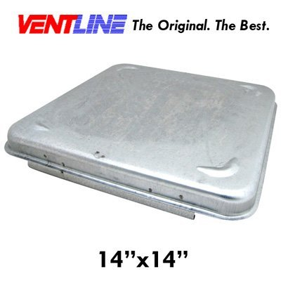Ventline Replacement RV Trailer Motorhome Vent Roof Cover (Metal)