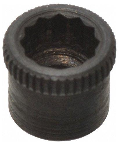 #4-40'' Thread Uncoated Steel Allen Nut #4'' Diam, 1/8'' Hex Key