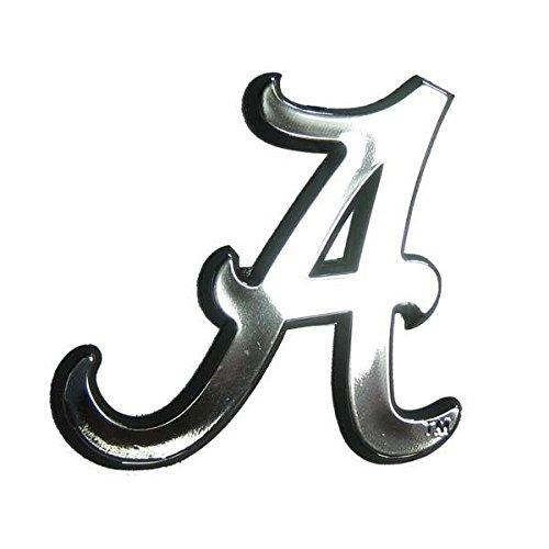 Alabama Crimson Tide Silver Auto Emblem ()