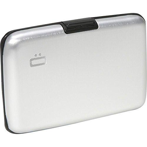 Ogon Aluminum Credit Card Wallet Silver