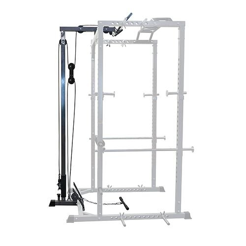 Valor Fitness BD-33 Heavy Duty Power Cage with Lat Attachment, Band Pegs and Multi-Grip Chin-Up by Ironcompany.com (Image #8)