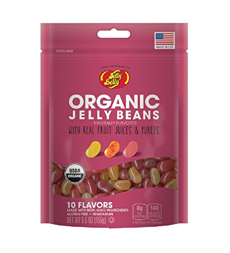 Jelly Belly Organic Jelly Bean Assorted 5.5oz (2 Pack)