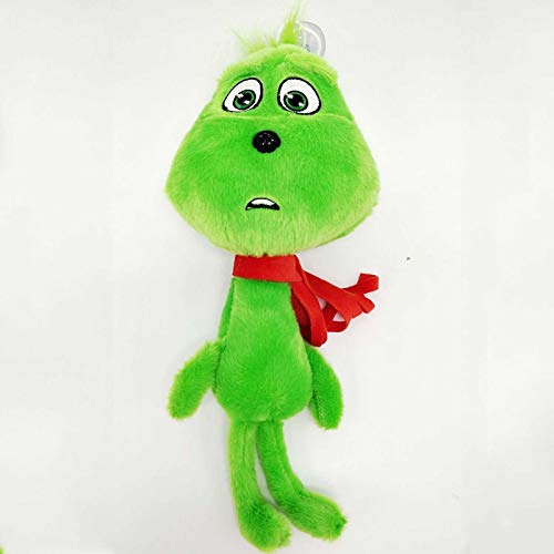 PAPIN Grinch Plush Toy 11 inch Hot Toys Big Large Size Cute Stuffed Stuff Doll Christmas Halloween Birthday Valentine Collectable Gift the Movie Collectible Gifts Mini Small Collectibles for Baby -