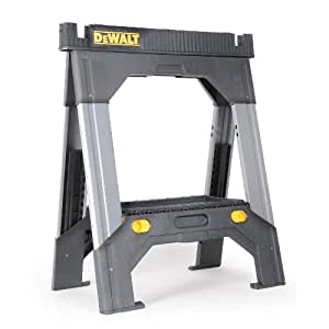 Dewalt Dwst11031 Adjustable Metal Legs Sawhorse Miter