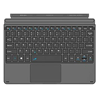 Arteck Microsoft Surface Go Type Cover, Ultra-Slim Portable Bluetooth Wireless Keyboard with Touchpad for Surface Go 2 (2020) and Surface Go Built-in Rechargeable Battery