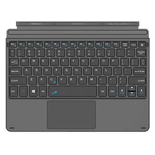 Arteck Microsoft Surface Go Type Cover, Ultra-Slim Portable Bluetooth Wireless Keyboard with Touchpad Built-in Rechargeable Battery