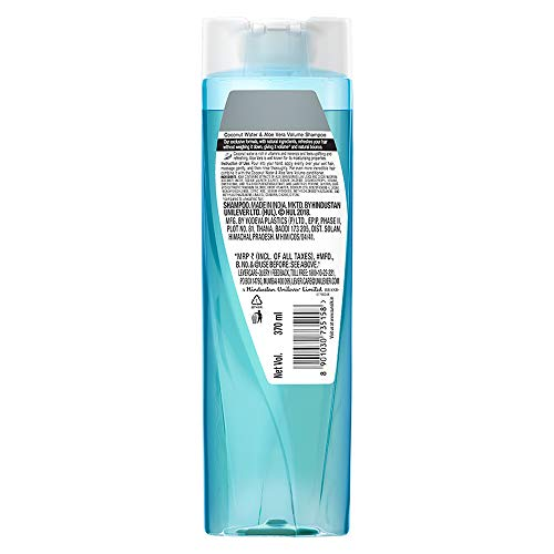 Sunsilk Coconut Water & Aloe Vera Shampoo, 370 ml