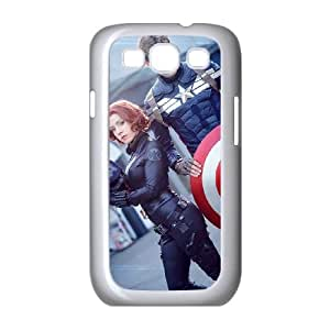 Captain Americ Samsung Galaxy S3 9 Cell Phone Case White present pp001_9617808