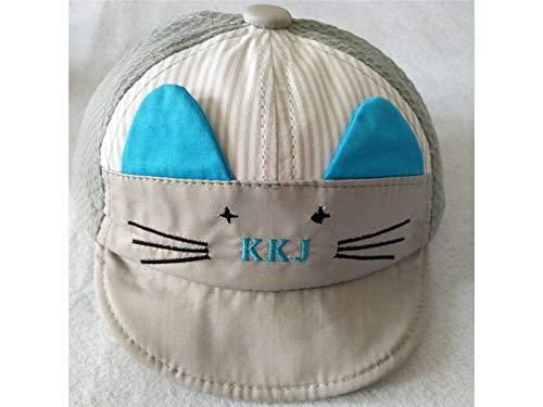 Yuchoi Sun Lovely Newborn Cat Style Baseball Cap Baby Outdoo