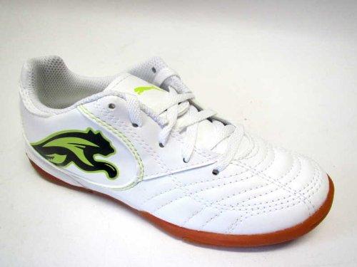 Puma 10279 02 (blanc/vert lime/blanc, motif puma noir/blanc/noir/vert lime punch