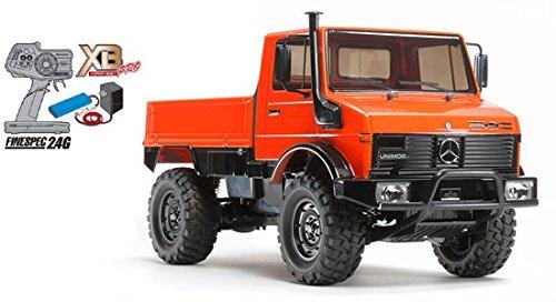 XB メルセデスベンツ ウニモグ 425(CC-01)(完成品)急速充電器&放電器セット+2300バッテリー B01EIY0SKK