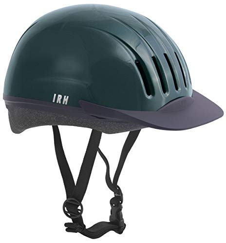 - Equi-Lite Schooling Helmet for Kids | Adjustable Horse Riding Helmets for Young Equestrian Riders , Green, Medium