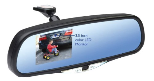 Large Format Ccd - Vision System VS8 Rear View Monitor System with 3 1/2