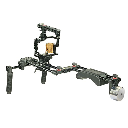 Filmcity Shoulder Rig for Sony a7R II, a7S II, & a7 II (FC-A7RS-RIG) by FILMCITY