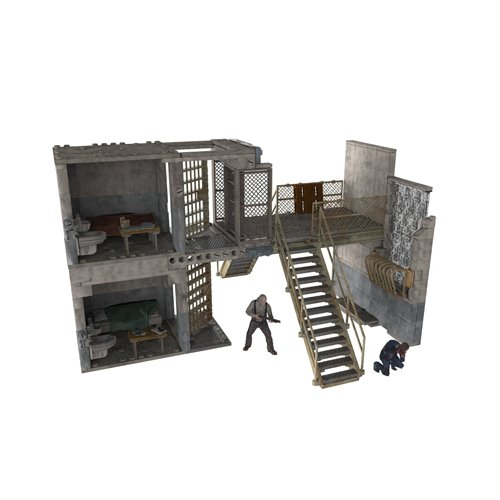 McFarlane Toys Construction Sets, The Walking Dead TV Prison Catwalk, Play Set (Discontinued by ()