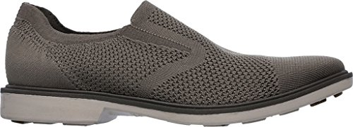 Mark Nason Los Angeles Mens Abito Monza Mocassino Slip-on Mocassino Taupe Dressknit / Guardolo Marrone Scuro / Fondo Talpa