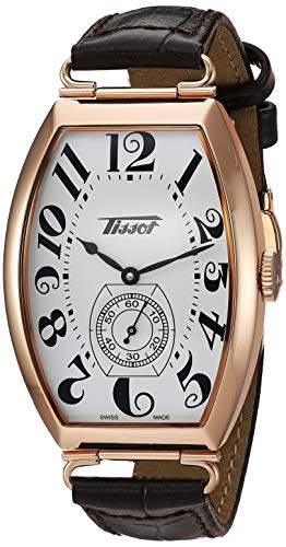 Tissot Unisex-Adult Porto Mechanical Stainless Steel Dress Watch (Model: T1285053601200)