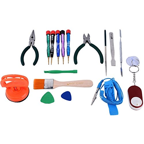Dean Professional Professional Multi-Purpose Repair Tool Set for Mobile Phone/Laptop Computer BST-111 17 in 1 Watch Repair Tool by Dean