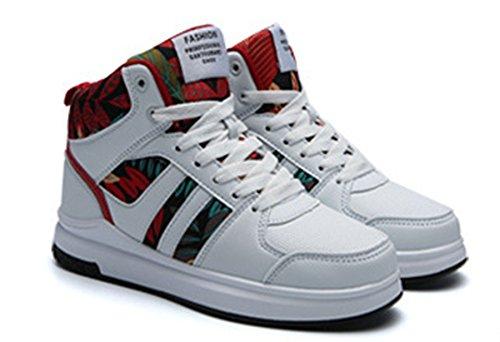 Chaussures Unisexe Augmentation Lanfengeu Haute En De Adulte Thermique Baskets Laine Occasionnel Flexibilit Couple RqOO15twFx