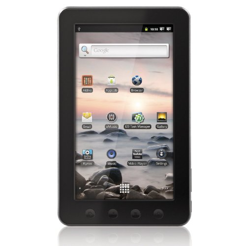 Coby Kyros 7-Inch Android 2.3 4 GB Internet Touchscreen Tablet - MID7012-4G (Black) (Android Tablet Coby Kyros)