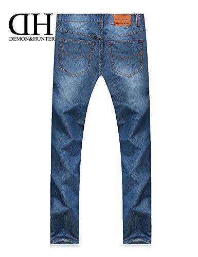 Uomini Pantaloni Fit Jeans Serie R Del Slim Blau Bicchierino Dei Taglio Modo Di Degli Casuali Allentati 806 Cashmere Diritto 684xw6p