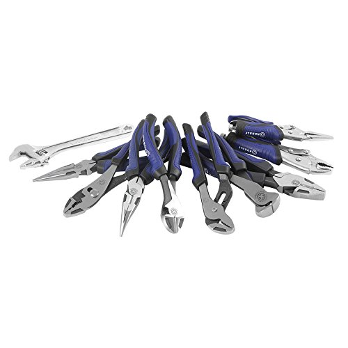 Kobalt 10 PC Pliers and Wrench Set 0464642