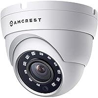 Amcrest 720p HDCVI Standalone Dome Camera (White) (DVR Not Included)