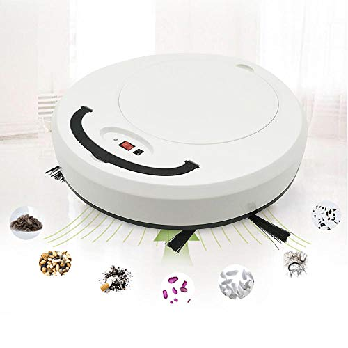 Layopo 3 in 1 Robot Vacuum Cleaner- 2019 New Upgrade USB Household Automatic Smart Robotic Sweeper with Mopping, Strong Suction, Anti-Collision Sensor- Sweep Robot for Pet Hair,Hard Carpets,Tile