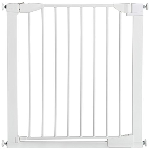 Munchkin Auto Close Metal Baby Gate, White (Munchkin Baby Door Gate With)