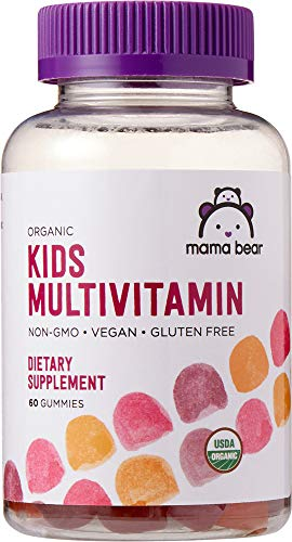 - Amazon Brand - Mama Bear Organic Kids Multivitamin, 60 Gummies, 1 Month Supply