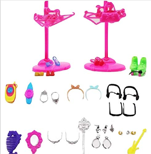 98 Piece Accessory Set for Laughing Surprise Doll from Chunks of Charm