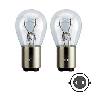 58062 - Glühlampen Set Ersatzlampe 21W/5W BAY15D 12V Zweifadenlampe ...