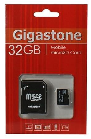Tarjeta Micro SDHC Gigastone 32 GB Clase 4 - Original ...